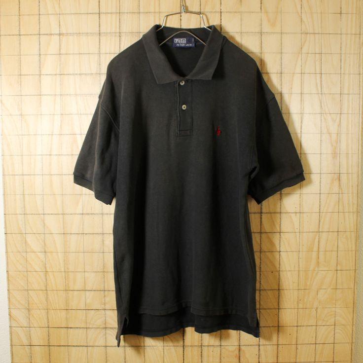 Polo by Ralph Lauren/ポロ・ラルフローレン/古着半袖ポロシャツ/メンズLサイズ