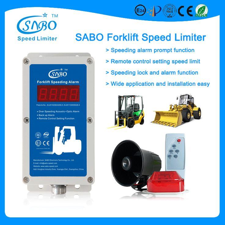 Toyota Forklift Speed Limiter