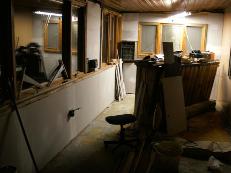 Interior of upcoming Across Leather Studio