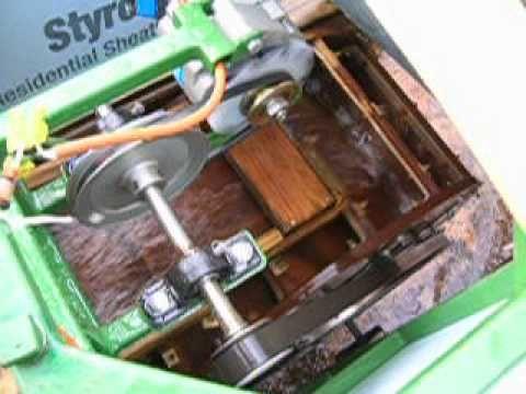 Home Made Water Wheel Gearing PMA Alternator