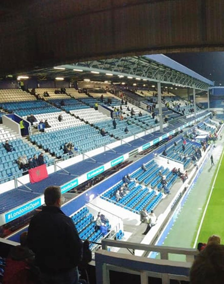 South Africa Road Stand, Loftus Road  Stadium prior to evening match v Sheffield United on Tuesday 31st October 🎃 2017