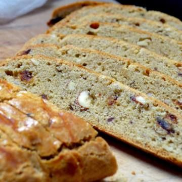 This family recipe for almond biscotti will quickly become your favourite. One quick look at the ingredients and you will realize there is no butter .