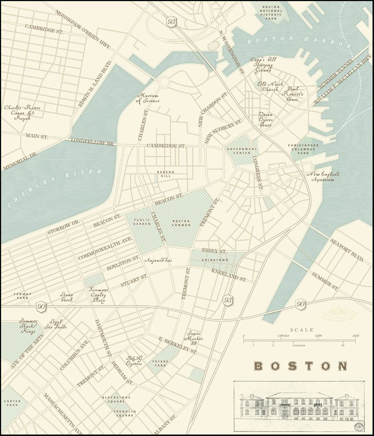 Graphic Site Map: 213 Best Boston Images On Pinterest
