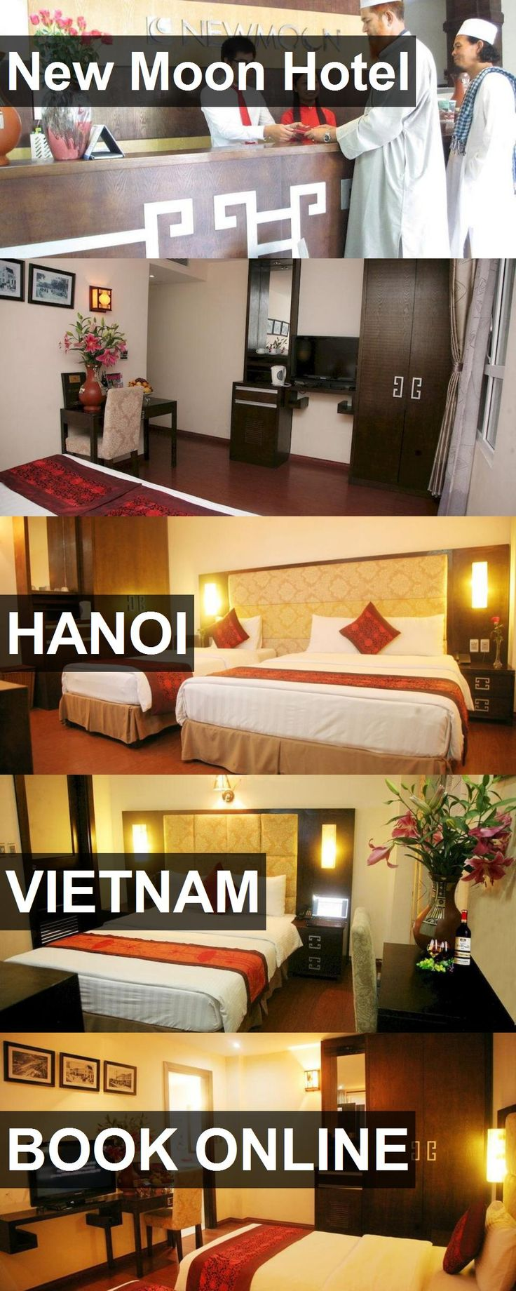 New Moon Hotel in Hanoi, Vietnam. For more information, photos, reviews and best prices please follow the link. #Vietnam #Hanoi #travel #vacation #hotel