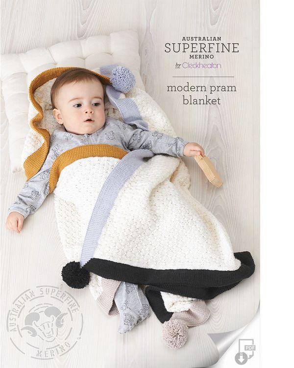 NEW Modern Pram Blanket