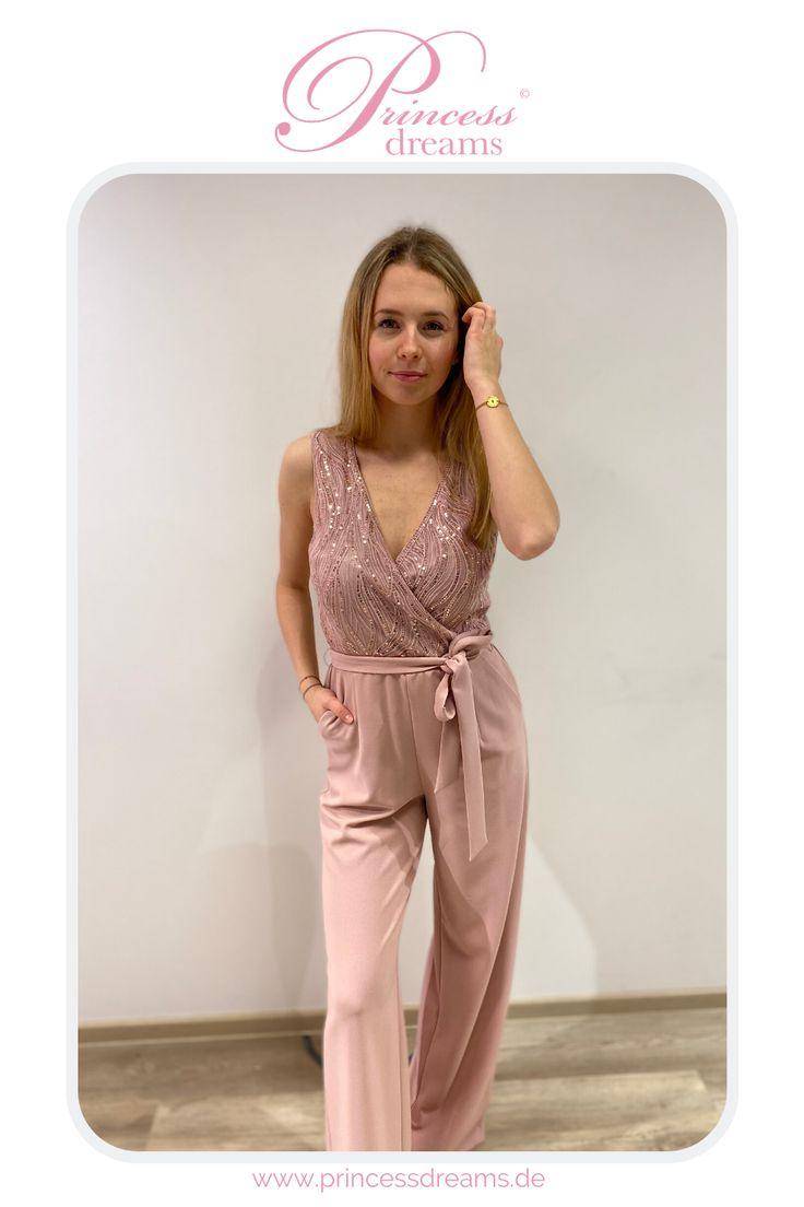 jumpsuit rosa abendmode   modestil, mode, abendkleid