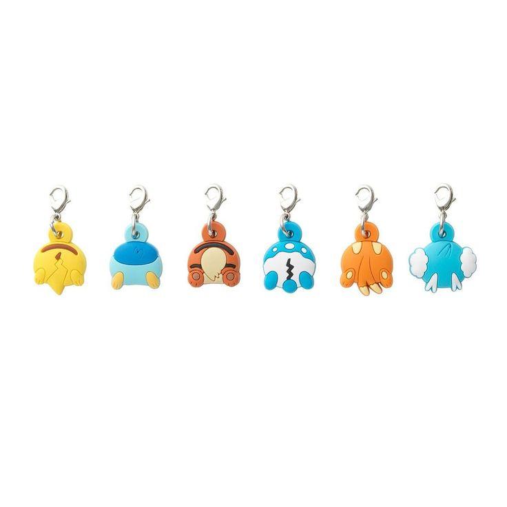 HIP POP! PARADE 6 x Rubber Charms set (Pokemon Center Original) $24.46 + $3.61
