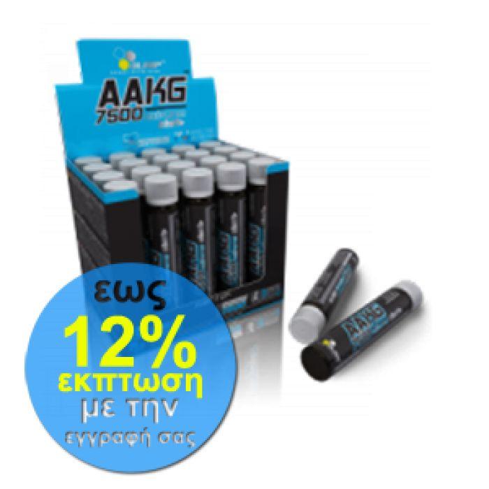 Το Olimp AAKG 7500 Extreme Shot σας προσφέρει λιγότερη μυϊκή κόπωση και δυσκαμψία, βελτιωμένα κέρδη στο μέγεθος των μυών, τη δύναμη και την αντοχή, αύξηση της παραγωγής και απελευθέρωσης της αυξητικής ορμόνης και συνεπώς πιο σφιχτή εμφάνιση στους μυς σας.   #aminoacids #fitness #supplements