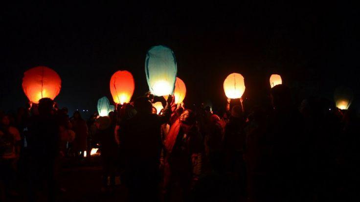 Dieng Culture Festival IV Festival Lampion
