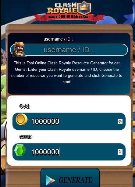 Get Gems Clash Royale
