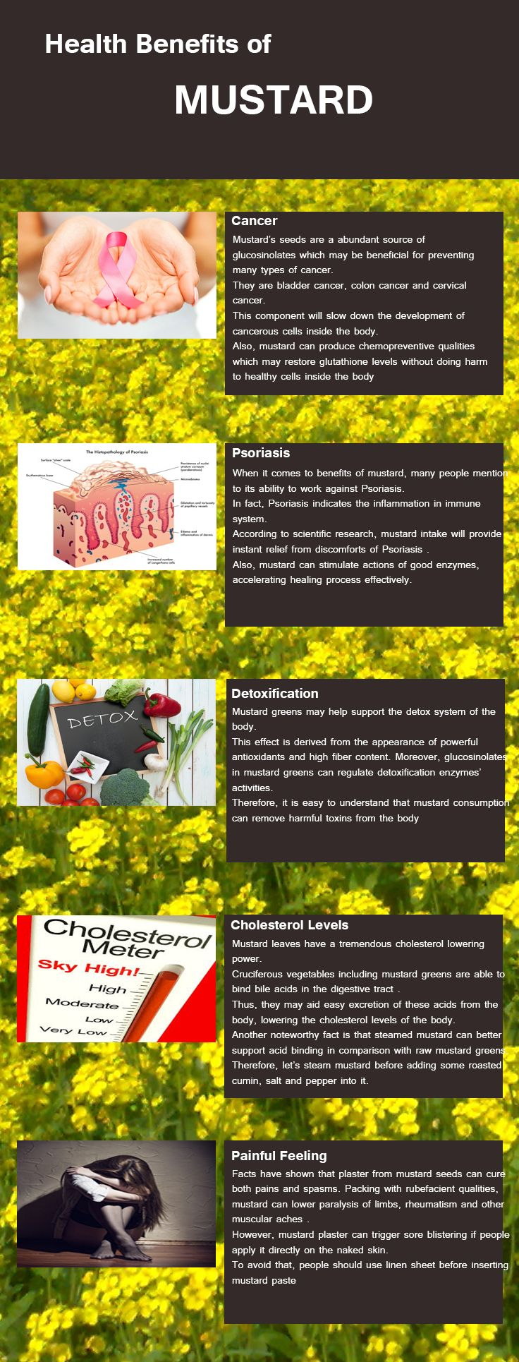 Mustard Benefits and Health uses