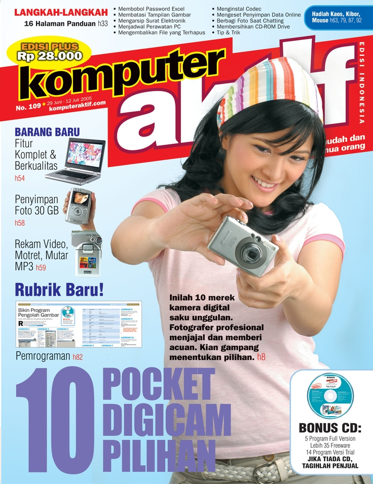 Ed.109 10 Pocket Digicam Pilihan