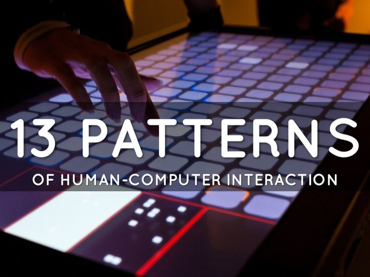 13 Patterns Of Human-Computer Interaction - A Haiku Deck