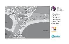 Sigue la ruta.Los 7 cuchillos Restaurante La Cabaña Peñiscola Reservas 964-480017