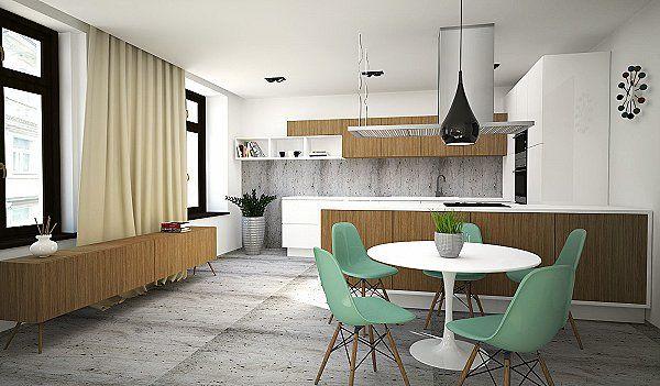 Byty: Návrh interiéru bytu v centre Bratislavy - Arcada.sk