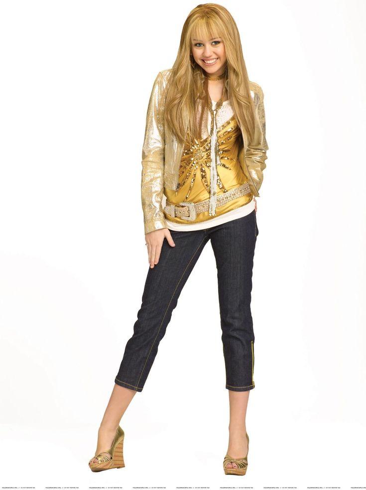 hannah montana outfits | Hannah Montana Hannah Montana 2 season Photoshoot (Golden Outfit)