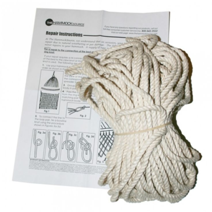 Rope Repair Kit With Instructions For Hammocks Swings