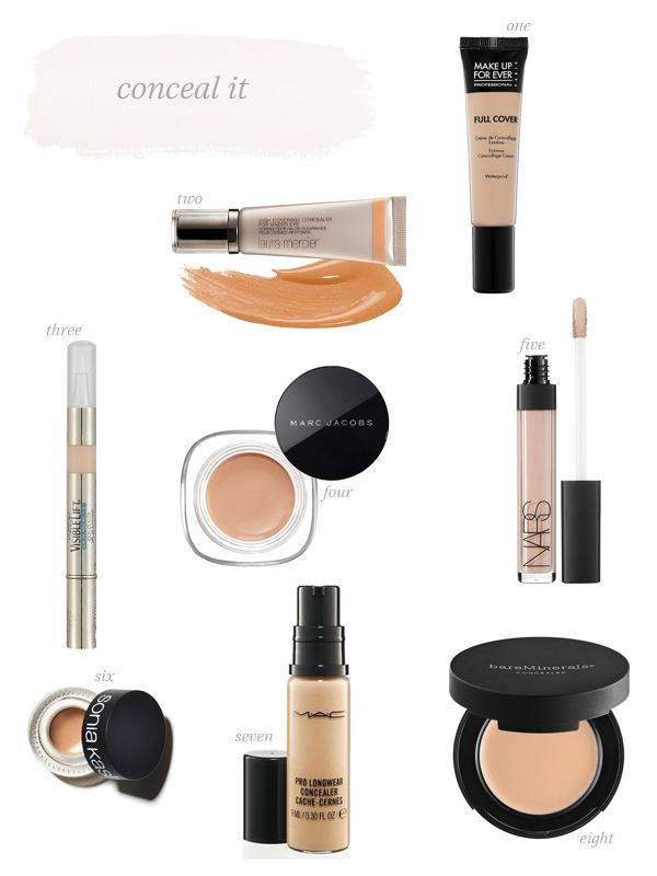 Conceal it //  my favorite concealers ( and those that fail to impress )