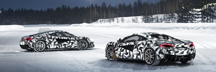 The newest item on our bucket list! McLaren Arctic Experience looks so exciting!
