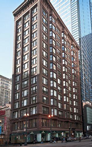 Chicago Building (1905), 7 West Madison Street, Chicago, Illinois, USA