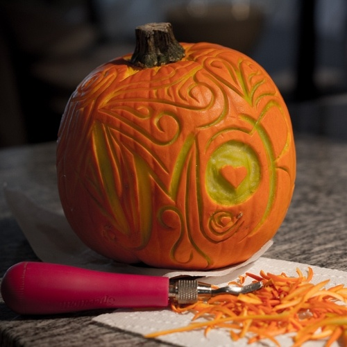 Best surface relief carved pumpkins images on