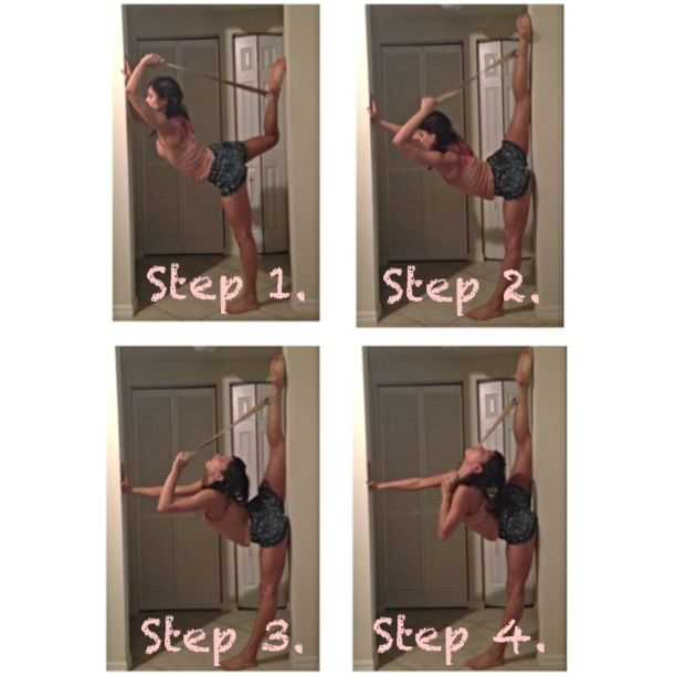 How to stretch for your needle :)