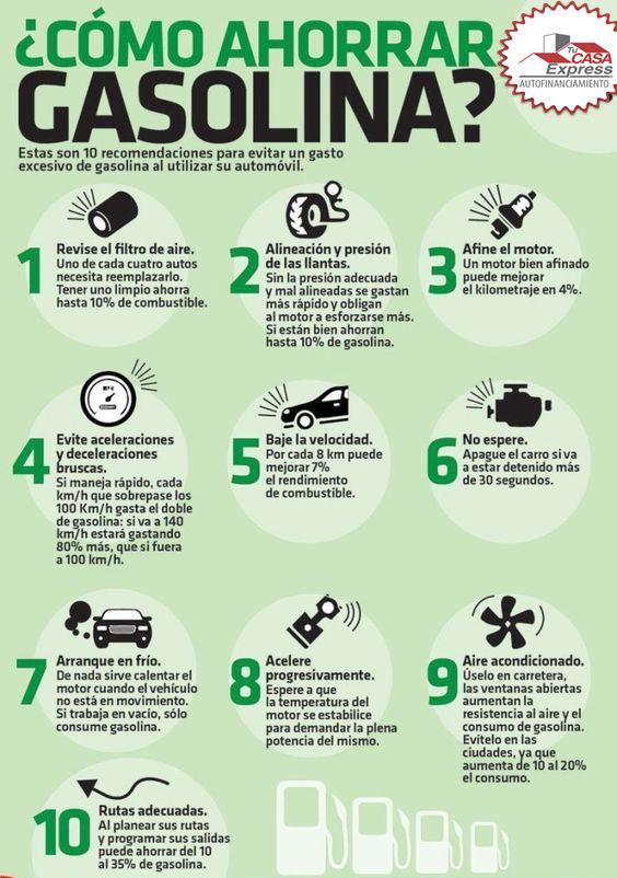 Los mejores Tips para ahorrar gasolina y así nos afectar tu economía.