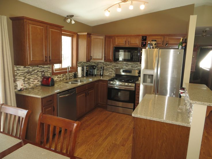 215 best images about remodeling our kitchen goal 2015 on - Kitchen designs for split level homes ...
