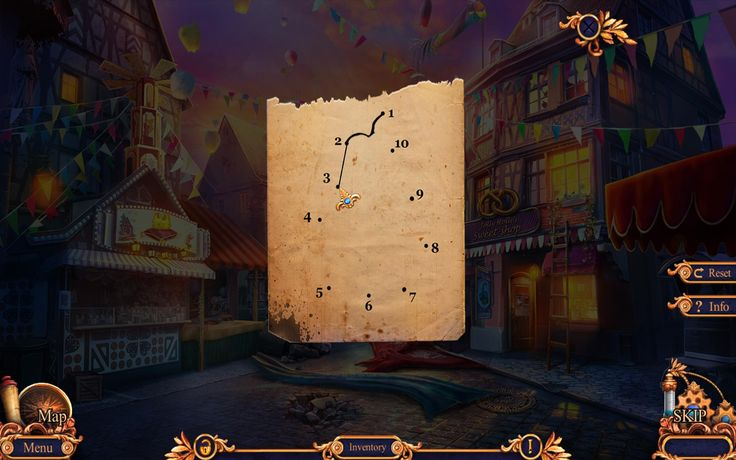 First mini-puzzle of Legend Of The Golem game for PC!