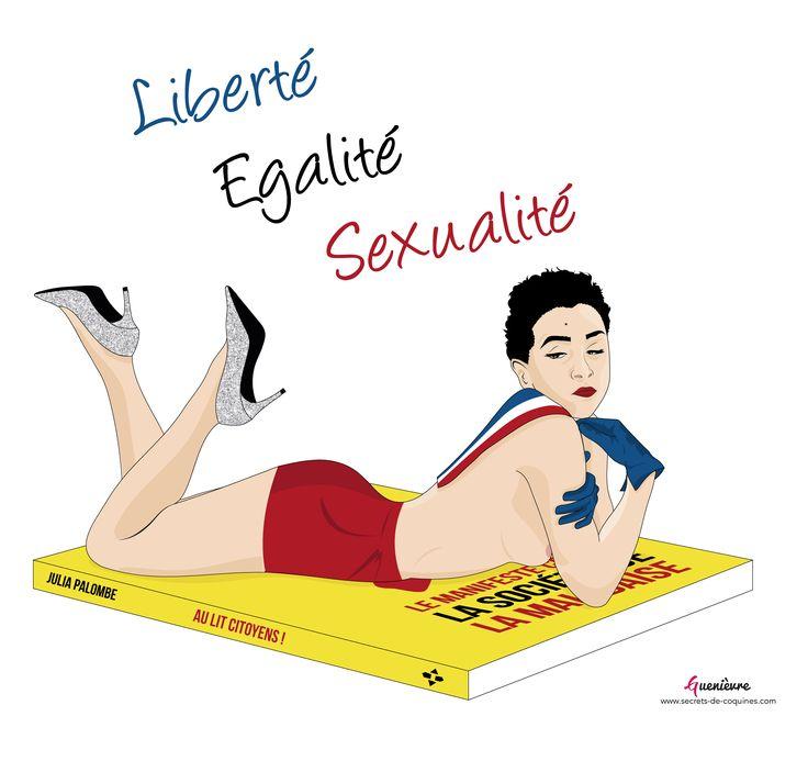 Julia Palombe - Au lit citoyens ! -  © Secrets de coquines