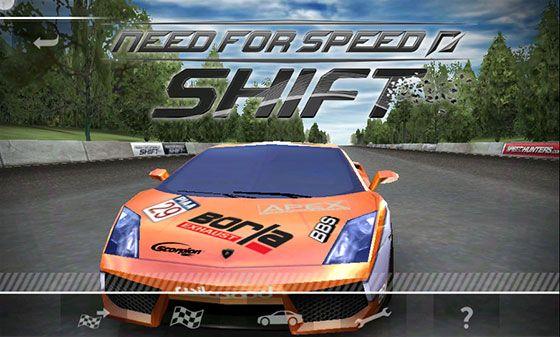 Need for Speed Shift v2.0.8 Full Apk Data obb + MOD version