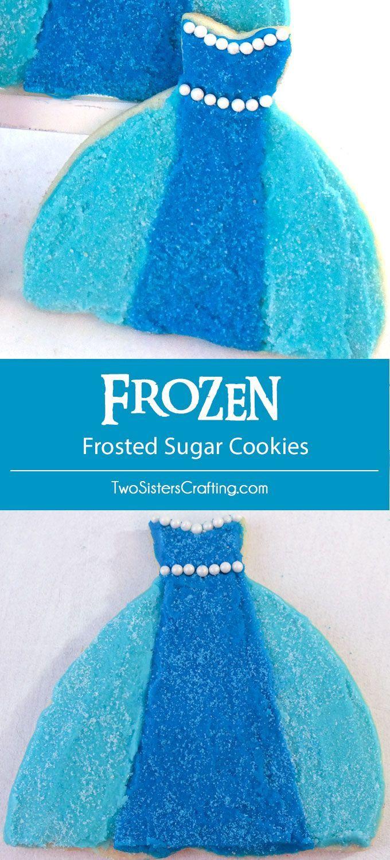 Frozen Frosted Sugar Cookies | Cookies | Pinterest | Sugar