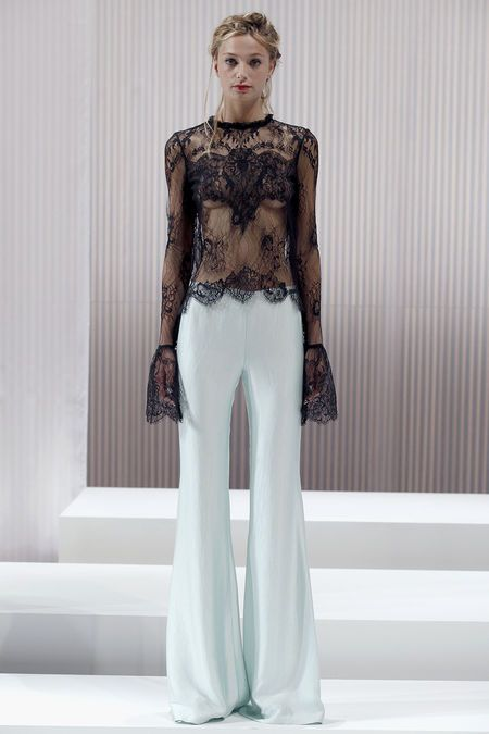 Wes Gordon s/s13 lace: