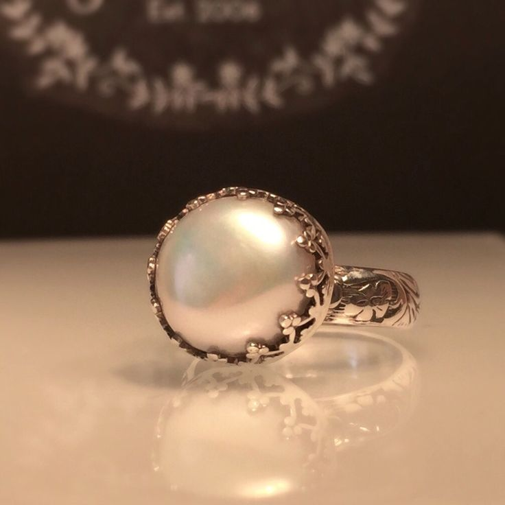 Any Style Pearl Ring. Pearl is June's Birthstone. Stock up for June Weddings. Great Bridesmaids Jewelry/Gift Ideas. Shop the Collection at Jewelriart.