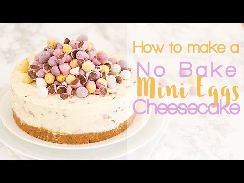 No Bake Mini Egg Cheesecake - THE Easter Recipe! - Taming Twins