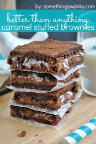 Better Than Anything salted caramel brownies