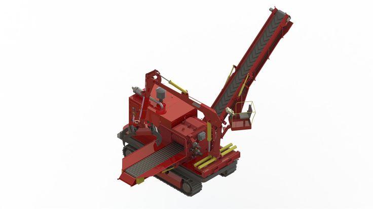 Picador de Madeira Florestal PFL 600 x 900 M-C  Um novo conceito para atender sua demanda