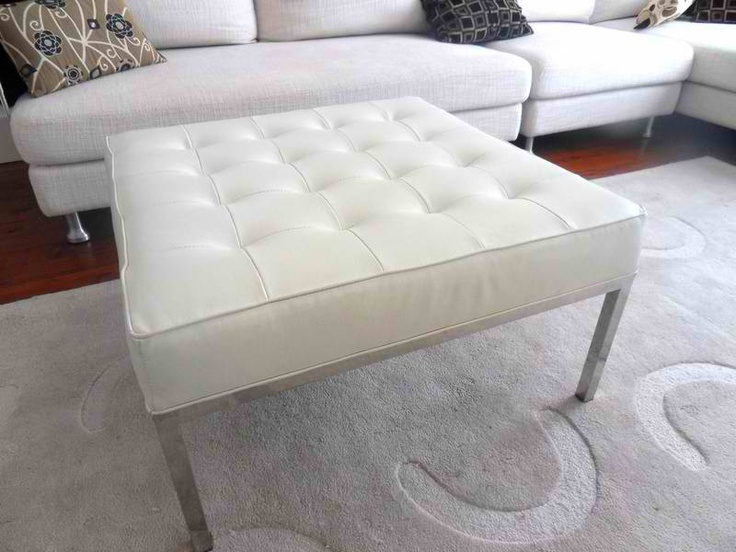 Tufted cool, but in brown and wood... but still considering stainless steel.