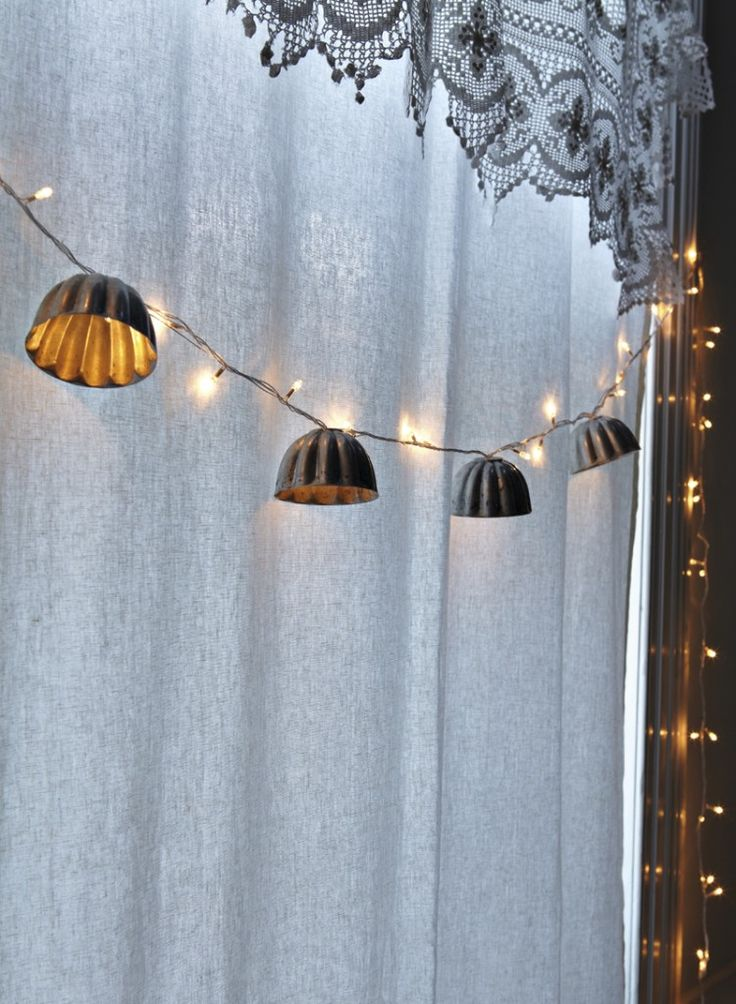 Jellyfish String Lights : Make jelly mould lights Decor inspiration Pinterest Crafts, Decor and Lights