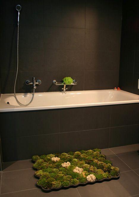 Best 20 moss bath mats ideas on pinterest bath mat for Make a moss bath mat
