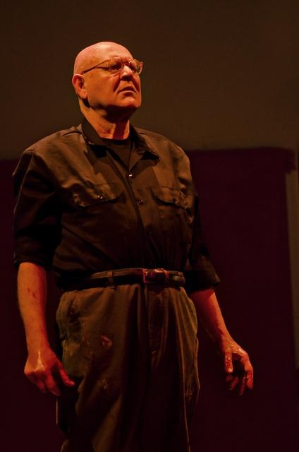 "Mark Rothko (Daniel Benzali) in ""Red."" Photo by Patrick Weishampel."