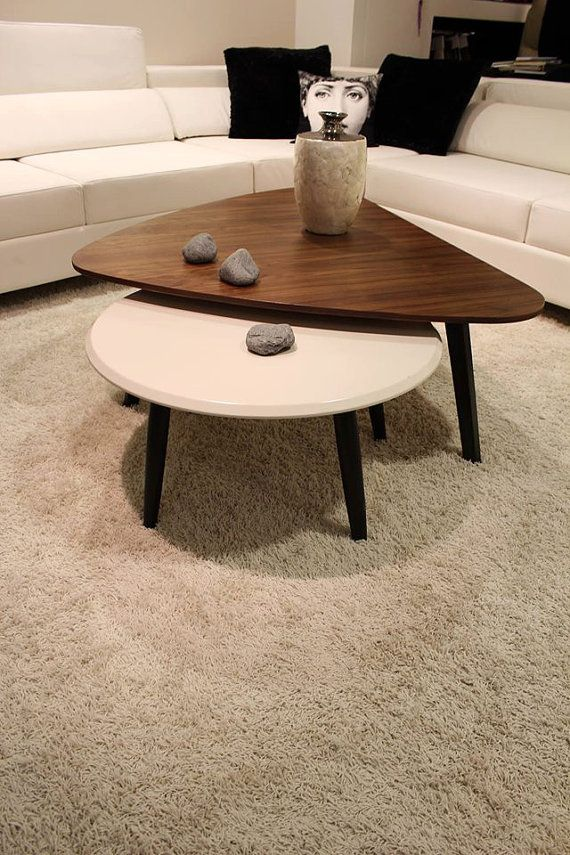 Walnut coffee table.mid century modern pick by craftworksfurniture