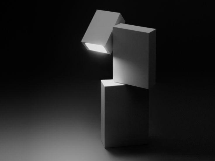 Lámpara de pie BOXES by Vibia diseño Josep Lluís Xuclà