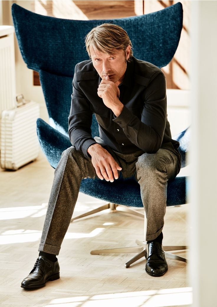 Mads Mikkelsen in the Imola chair