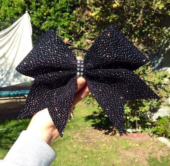 Sparkly bow on Etsy