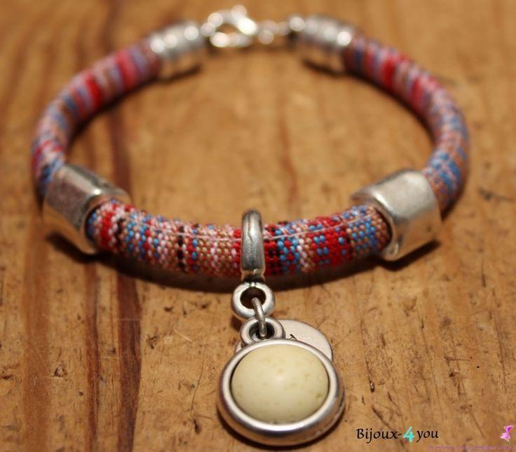 Aztec armband HM 6 | Aztec koord armbanden | Bijoux-4you