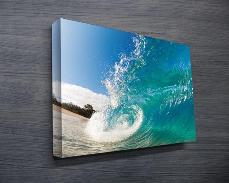 Cool Wall Decor For Guys : Surf art surfing artwork sydney australia canvas