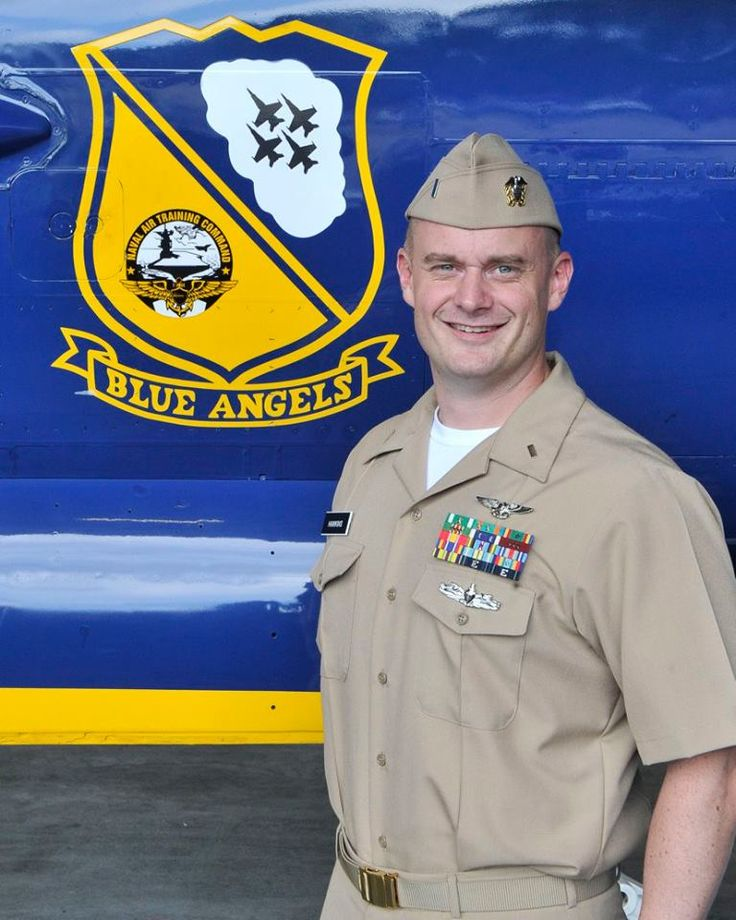"""2017 Blues. Navy Lt. j.g. Timothy Hawkins, 37, of Scranton, Pennsylvania, is an Administrative Officer currently assigned to Strike Fighter Squadron ONE FOUR THREE (VFA-143), the """"Pukin' Dogs,"""" at NAS Oceana, Virginia. He was commissioned through the Limited Duty Officer Program in 2013"""