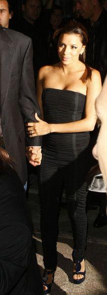 Eva Longoria Photos: Eva Longoria & Tony Parker At Baoli Restaurant At Cannes 2