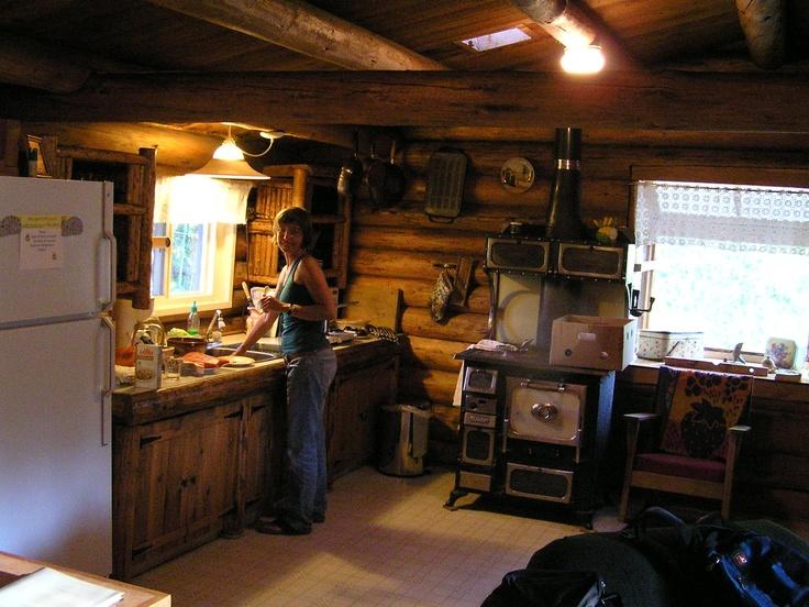 Kleena Kleene cabin, British Columbia, Canada
